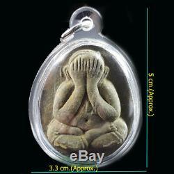 Phra Pidta Amulet Pim Jumbo LP Toh Wat Pradu Chimplee Talisman Real Thai Buddha