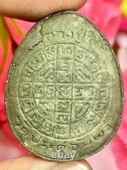 Phra Pidta Jumbo Have Certificate Card Magic Thai Amulet Buddha Charm Pendant