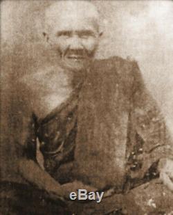 Phra Pidta Mekapad LP. Nak Huayjakae Temple Thai Amulet Thailand Buddha Pendant