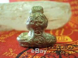 Phra Pidta Talisman LP Kron Wat Bangsae Thai Buddha Meditation Amulet