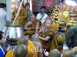 Phra Pikanet SALIKA Bird Butterfly Thep Pamorn KRUBA KRISSANA Thai Amulet Buddha