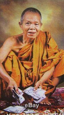 Phra Rian LP KOON Thai Buddha Amulet Pendant, B. E. 2537, Genuine From Temple