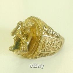 Phra Ring -LP-Koon-Monk-Wat -banRai Talisman-Mercy-Thai-Buddha-Amulet old / rare