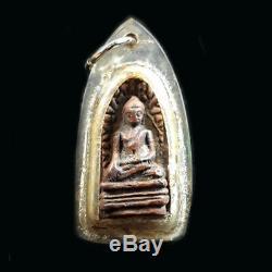 Phra Rod Mahawan Talisman Magic Luck Charm Wealth Thai Buddha Amulet Pendant