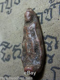 Phra Ruang Pird Lok, Nuer Din, Kru Kamphang Phet Buddha 3-400 yr Thai Amulet