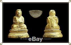 Phra Sangkutjrai Rattanakosin Ancient Era Statue Beautiful Buddha Thai Amulet