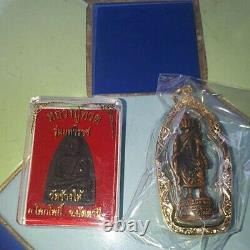 Phra Sivali Buddha Tooth Relic Model thai Amulet Lp Kalong Glass Tooth Year 2008