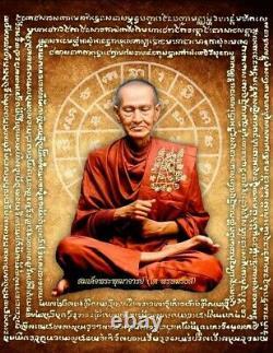 Phra Somdej Amulet Thai Wat Rakang Buddha Lp Toh 1863 Era Wooden Texture Rare