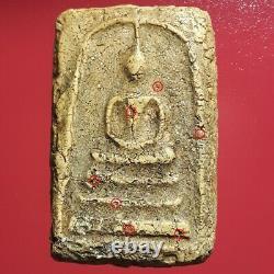 Phra Somdej Bang Khun Phrom Pim Yai Rare Thai Amulet Buddha Old Texture Cracked