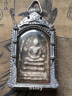 Phra Somdej Bang Khunphrom, over 160 yr old Thai Buddha Amulet