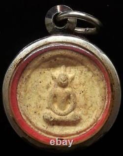 Phra Somdej Bangkhunprom Thai Buddha Amulet Pendant Luck Charm Wealth Thailand