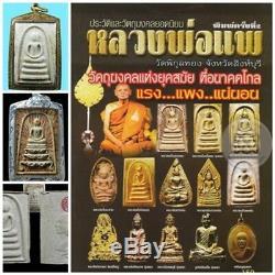 Phra Somdej, LP Pae Wat pikuntong, Thai Amulet Buddha genuine 100%