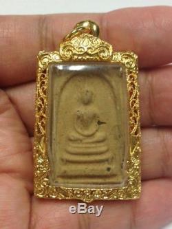 Phra Somdej LP Tim Than Sing 2516 Wat Borwin Old Wat Thai Amulet Buddha Antique
