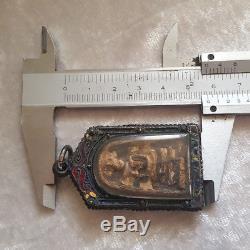 Phra Somdej LP Toh Wat Rakhang Vintage Case Thai Buddha Amulet #5972