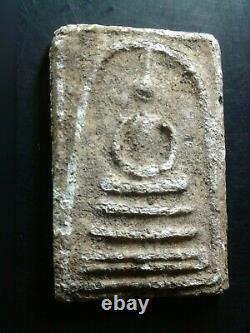Phra Somdej Lp Toh Wat Rakang Real Old Antique Buddha Thai Amulet very rare A