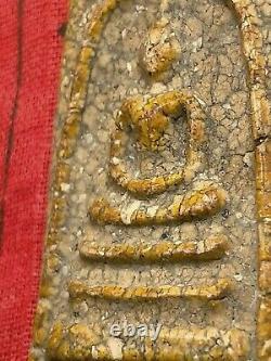 Phra Somdej Lp Toh Wat Rakang Real Old Antique Buddha Thai Amulet very rare A+
