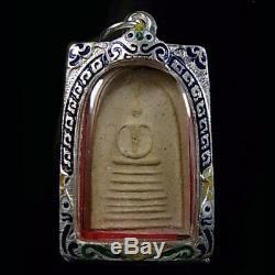 Phra Somdej Luang Pu Phu Phim 7 Layer Backside Pidta Thai Amulet Buddha Pendant