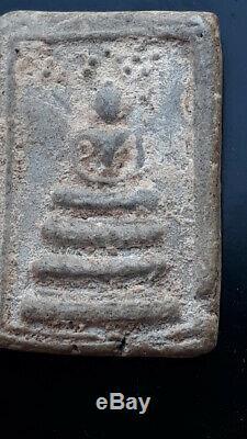 Phra Somdej PILAN Wat Rakang Thai Magic Amulet Old Buddha Pendant by LP TOH