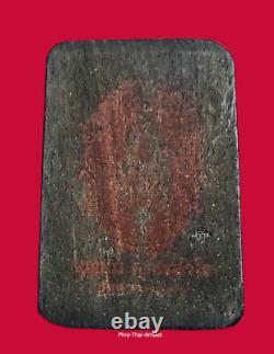 Phra Somdej Payayiewdam Kruba Boonchum 2557 Magic Ebony Craft Buddha Thai Amulet