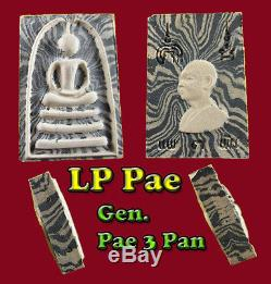 Phra Somdej Rainbow 4X takrut LP Pae Wat Pikulthong Thai Amulet Buddha