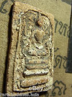 Phra Somdej Toh, Phim Phiset, Kru Bangkhunprom Buddha, Rare Thai Buddha Amulet