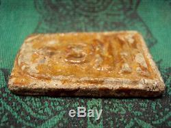 Phra Somdej Toh Pim Yai Hairs Relics Wat Rakang Thai Buddha Old Amulet Very Rare