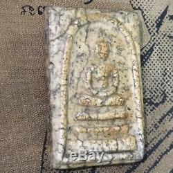 Phra Somdej Toh Wat Rakang Phim Ket Buatoom, Thai Amulet Buddha Silver Case
