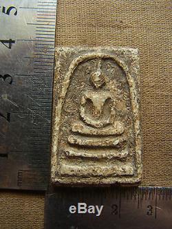 Phra Somdej Toh Wat Rakang Phim Yai! Old Rare Thai Amulet Antique Buddha