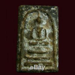 Phra Somdej Wat Bangkhunprom Pim Sendai B. E. 2413 Old Thai Amulet Buddha Pendant