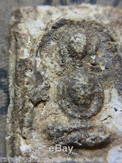 Phra Somdej, Wat Ket Chaiyo, Angthong, 3 based mold 160yr Thai Buddha amulet RARE