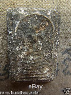 Phra Somdej, Wat Ket Chaiyo, Angthong, 7 based mold 160yr Thai Buddha amulet