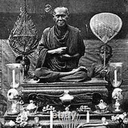 Phra Somdej Wat RaKang, Thai Amulet Buddha, holy power Talismans, rare, L. P. Thor