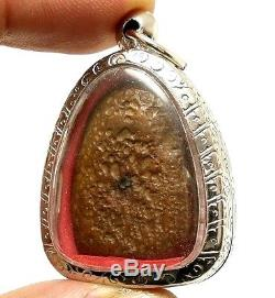 Phra Soomgor Money Rich Lucky Life Thai Top 5 Benjapakee Buddha Real Rare Amulet