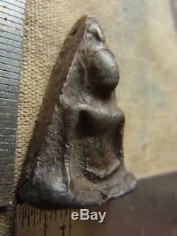 Phra Wat Nang Phaya, Phitsanulok, Phim Lek, Thai Buddha, Real Antique Silver Case