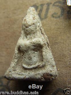 Phra Wat Nang Phaya Pim Yai, Phitsanulok, Earthen base, Thai Buddha, stainless Case