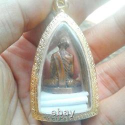 Phra pL-Luang Phor. Derm. Thai Buddha amulet. Block B, rare top Thai amulets