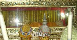 Phra pidta BE. 2517 coin silver, LP Kummee, Thai Amulet Buddha genuine