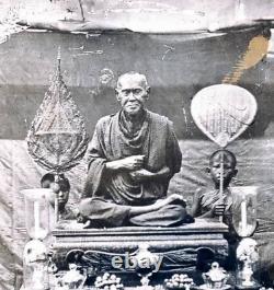 Phra somdaj Thor genuie Bangkunpom thai Amulet Buddha, the holy material old