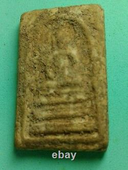 Phra somdaj Thor genuie Bangkunpom thai Amulet Buddha, the holy material old A