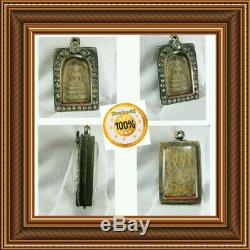 Phra somdaj Tor pokpo wat Rakang thai Amulet Buddha, the holy material old# 2
