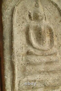 Phra somdej -Tor Big size 2399 b. E. (1856)Rare wat Rakang thai Amulet Buddha