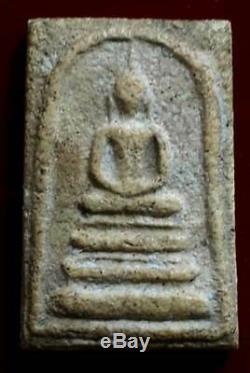Phra somdej wat rakang LP TOH antique Thai magic amulet buddha lucky pendant