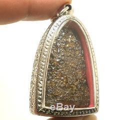 Powerful Lord Buddha Nadoon Lucky Rich Money Success Thai Antique Amulet Pendant