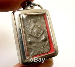 Powerful Lp Suk Sook Double Buddha Thai Magic Miracle Real Amulet Lucky Pendant