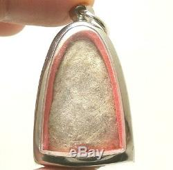 Powerful Magic 1957 Lp Tuad Thuad Thai Success Rich Buddha Amulet Lucky Pendant