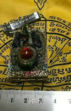 Praying Leklai Thai Amulet Gift Naga Eye Love Magic Talisman Buddha Pendant Sex