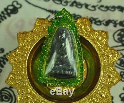 RARE Black Kod Phee Phra Lp Tuad Thuad Thai Buddha Amulet ajarn Somporn Leklai