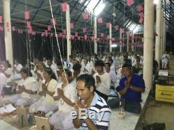 RARE KUMANTHONG Mija Ajan Manit Thai Buddha big size 17 Luang Phor amulet