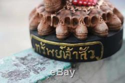 RARE KUMANTHONG Minja Ajan Manit Thai Buddha big size 17 Luang Phor amulet
