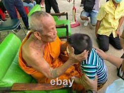 RARE PHRA RAHU LP PHAT Luck Rich Prevent Black Magic Thai Buddha Amulet Thailand